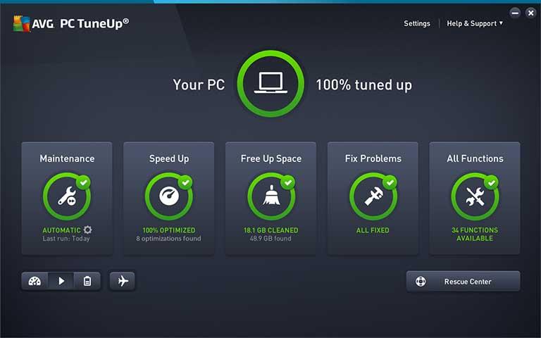 Descargar TuneUp Utilities 2021 Full en español + serial activación permanente funciona
