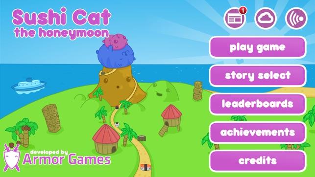 Juegos de Sushi Cat Honeymoon