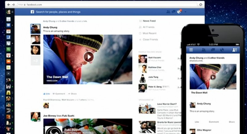Newsfeed-facebook