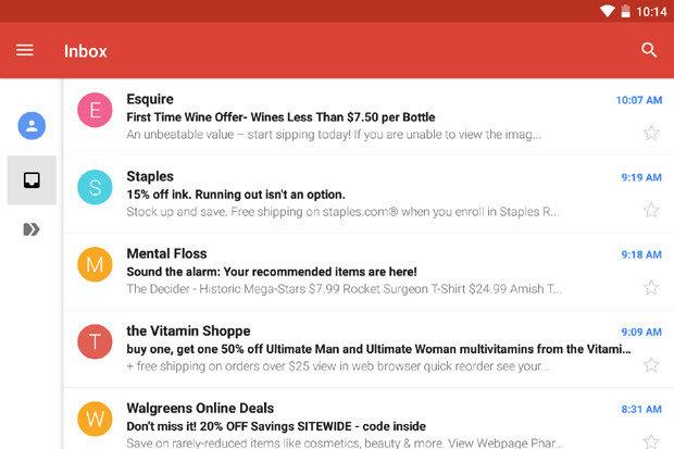 Como abrir Gmail en Android