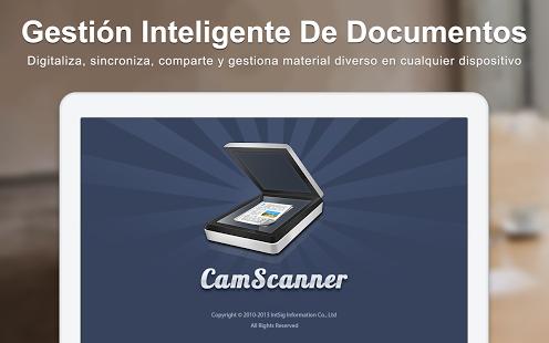 escanea documentos con android