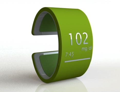 pulsera para medir colesterol y triglicéridos