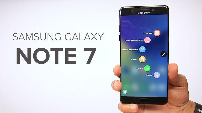 Problemas de Samsung Galaxy Note 7