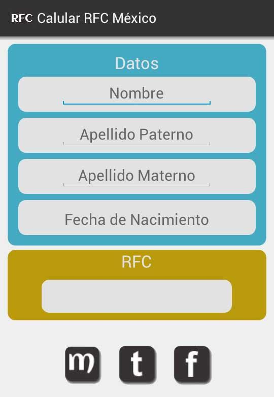 calcular rfc