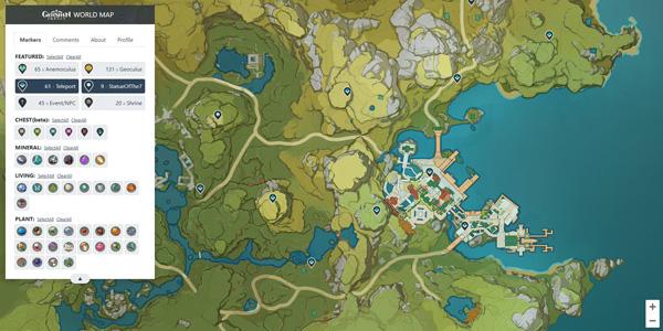 mapa interactivo genshin impact app